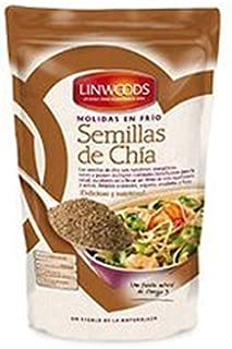 Semillas De Chia Molidas Bio 200 Gr de Linwoods