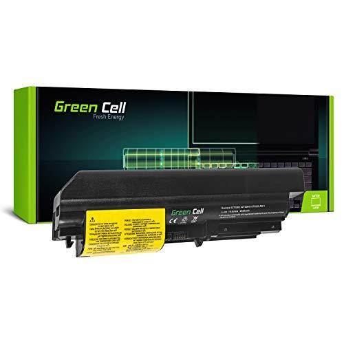 Green Cell Standard Serie 42T5225 Laptop Akku für Lenovo IBM ThinkPad T61 T400 R61 R61i R400 (6 Zellen 4400mAh 10.8V Schwarz)
