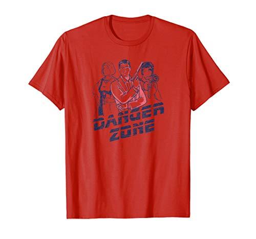 Archer and Girls Danger Zone T Shirt