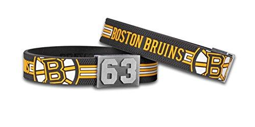 BRAYCE® Boston Bruins Armband mit Deiner Trikot Nummer 00-99 I Eishockey pur mit dem NHL® Bruins Trikot am Handgelenk personalisierbar & handgemacht