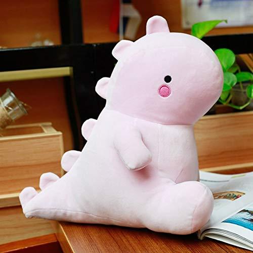 30-50 CM Juguetes de Peluche de Dinosaurio Kawaii muñeco de Peluche Suave para niños bebé niños Juguete de Moda de Dibujos Animados Regalo clásico 40 cm Rosa