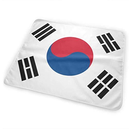 Koreaanse Vlag Veranderende Pad Waterdicht Zachte Grote Baby Veranderende Mat om Luier Matrasbeschermer Cover voor Jongen en Meisje Pasgeboren (25.5