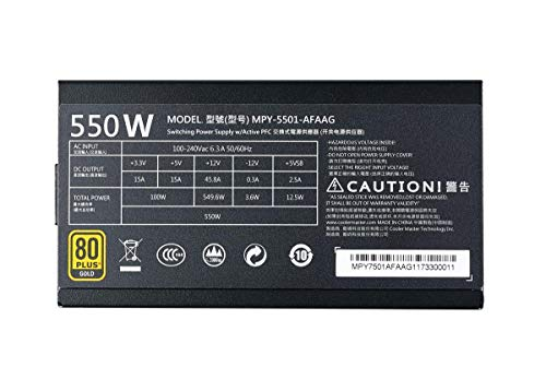 Build My PC, PC Builder, Cooler Master MPY-5501-AFAAG-US