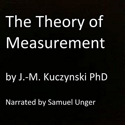 The Theory of Measurement audiobook cover art