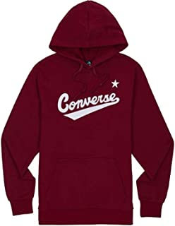 Converse Men's 10017675-A07_L Sweatshirt, burgundy, L