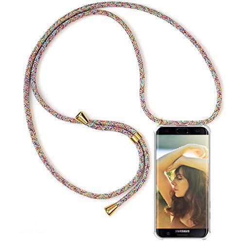 OnlyHülle Hülle für Oppo Find X2 Neo Necklace Hülle mit Kordel zum Umhängen Silikon Handy Schutzhülle mit Band - Schnur mit Hülle zum umhängen Handyhülle