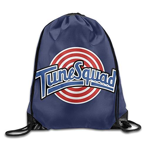 Hicyyu Tune Squad Logo Drawstring Backpack Gym Bag