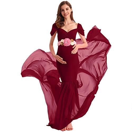 Styling Off the Shoulder Wedding Dress