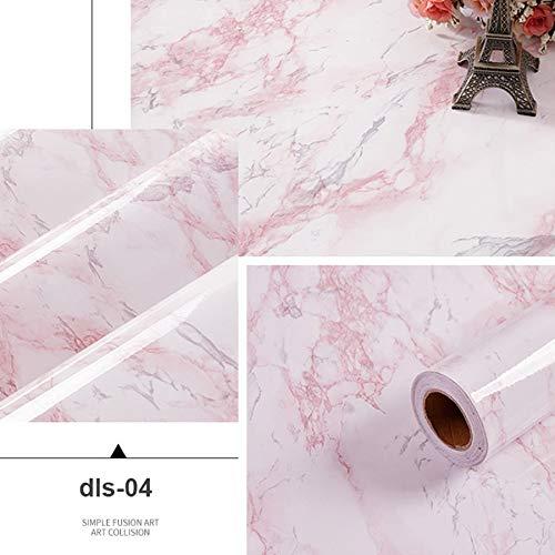 yuandp PVC tape behang marmer stickers waterdicht hoge temperatuur keuken aanrecht eettafel meubilair kast behang 40cm x 4m