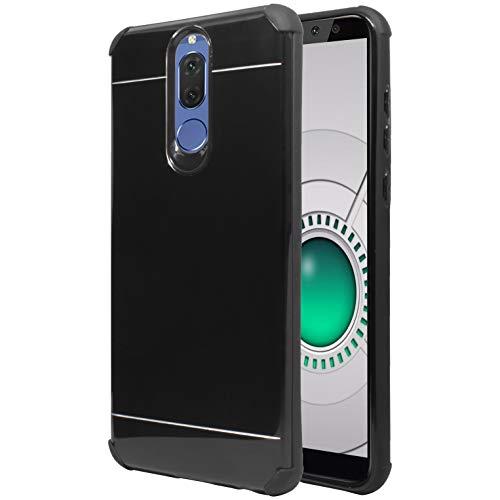 Funda Protector Case Aluminio para Huawei Mate 10 Lite Rne-l03. Incluye Cristal Templado Plano. Diseño…