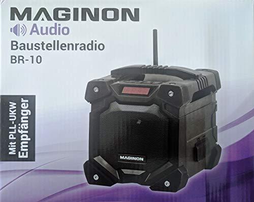 Baustellenradio mit Bluetooth® Radio Baustelle (schwarz)