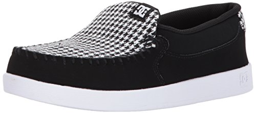 DC Women's Villain TX SE Skate Shoe, Light Grey/Blue, 7 B US