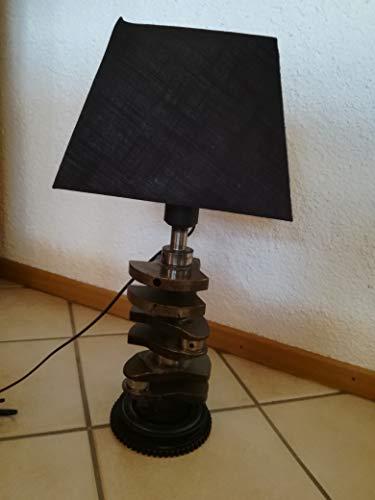 Tischlampe Kurbelwelle
