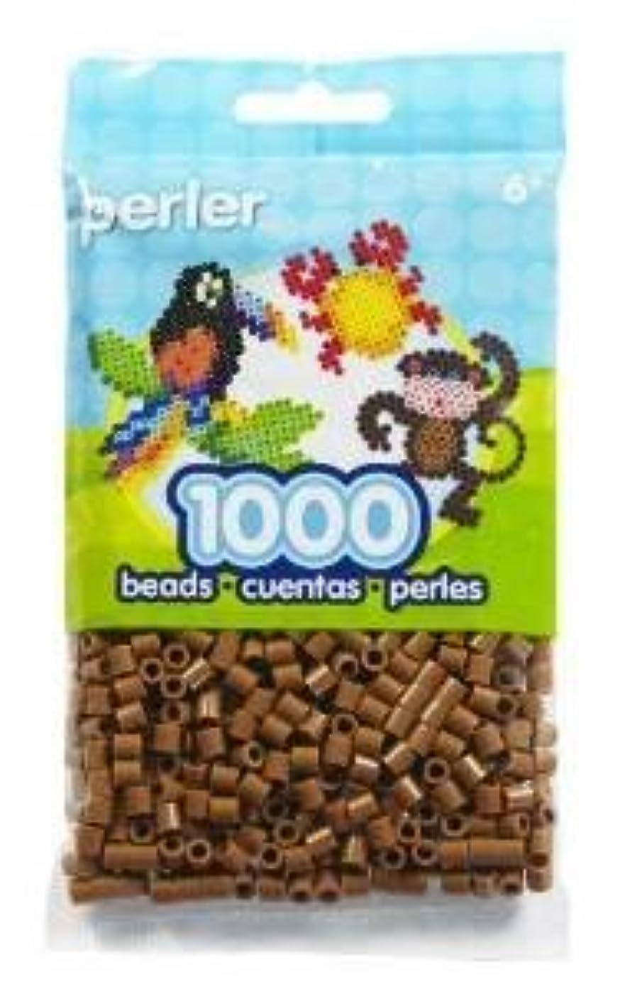 Bulk Buy: Perler Beads 1,000 Count Light Brown (3 Pack)