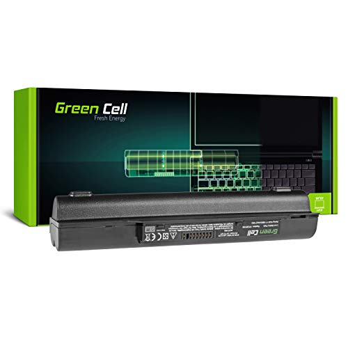 Green Cell® Extended Serie FPCBP250 Batería para Fujitsu LifeBook A530 A531 AH530 AH531 Ordenador (9 Celdas 6600mAh 10.8V Negro)