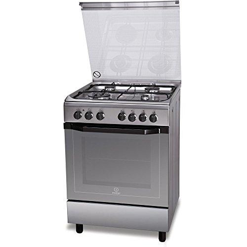 Indesit I6TMH2AF(X)/I cucina Piano cottura Acciaio inossidabile Gas A