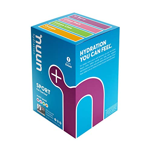 Nuun Sport: Electrolyte Tablets, Effervescent Hydration Supplement, Citrus Berry Mixed Flavor Pack,...