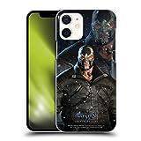 Head Case Designs sous Licence Officielle Batman Arkham Origins Bane Personnages Coque Dure pour l'arrière Compatible avec Apple iPhone 12 Mini