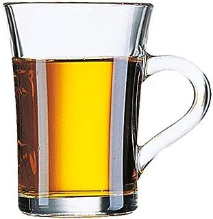 Arcoroc ARC 47602 Wien Teeglas, Jagerteeglas, 230ml, Glas, transparent, 6 Stück