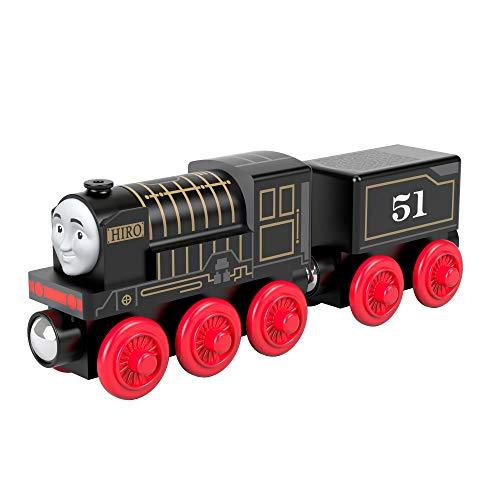 Thomas & Friends il Trenino Thomas, Locomotiva Hiro di Legno, Giocattolo per Bambini 2+ Anni, GGG67