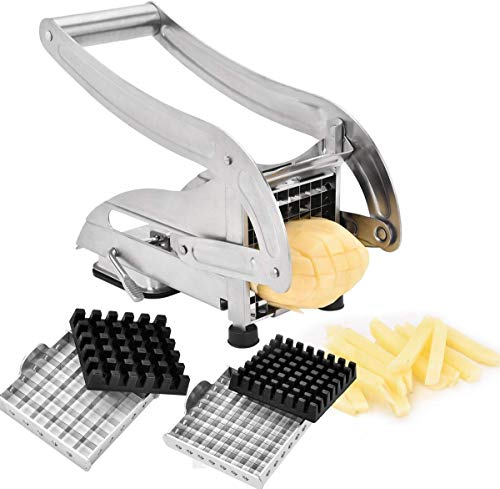 YIHGJJYP Cutting Machine Cutting French Fries Best Value Stainless Steel Does Not Use Home Potato Slicer Cucumber