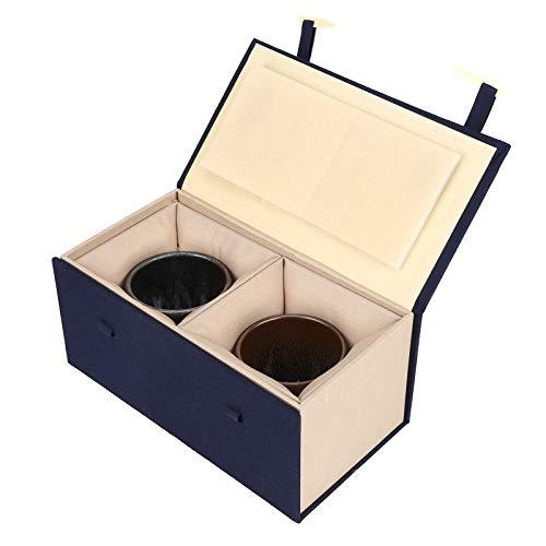Taza de té japonesa Estilo japonés Decoración segura para el hogar Vajilla de cerámica Exquisita vajilla de cerámica para el hogar