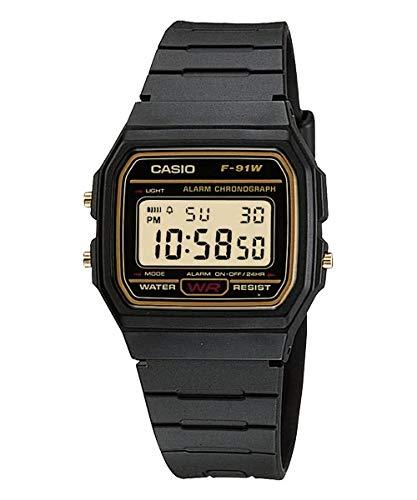 [カシオ] CASIO 腕時計 クオーツ F-91WG-9 ユニセックス チープカシオ ブラック [並行輸入品]