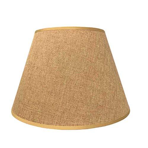 TRITTHOCKER 40cm Lampenschirm, E27 Art Deco Lampenschirm, für runde Tischlampe Lampenschirm, für Heimdekoration