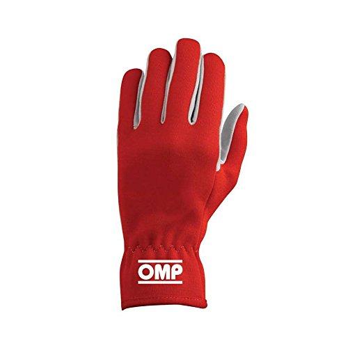 Omp OMPIB/702/R/M Rally Handschuhe, Rot, Größe M