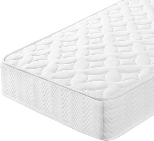 Andric Single Mattress 3FT Pocket Sprung Mattress with 3D Breathable Hypoallergenic Fabric Knitted Cover for Kids/Adults,Medium Firm,Orthopedic Foam Mattress,190x90