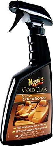 Meguiar's G18616EU Gold Class Leather Conditioner Lederpflege, 473 ml
