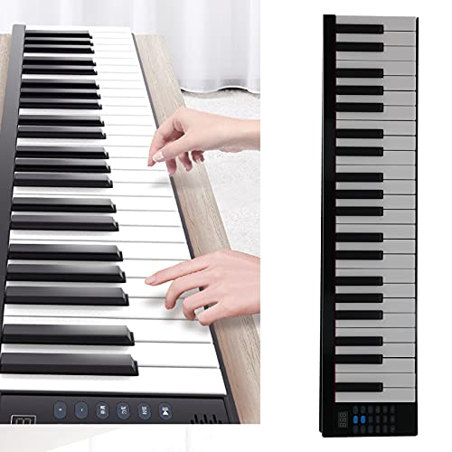 Surebuy Piano Recargable, Piano Plegable con Altavoz para Regalo de Amigos de niños