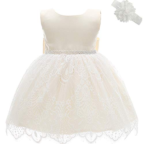 Dream Rover Vestido De Bautismo De Bebés Niñas Vestidos De Ocasión Especial