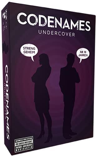Czech Games Edition CGED0030 Asmodee Codenames Undercover, Familienspiel, Ratespiel, Deutsch