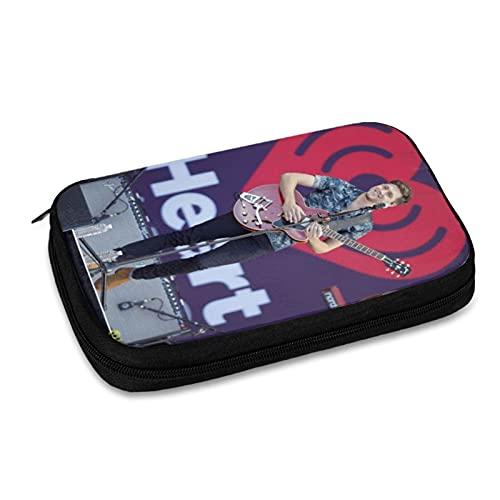 Niall Horan Data Line Bolsa de almacenamiento de línea de viaje, bolsa de almacenamiento de accesorios electrónicos, cargador USB, etc. Bolsa de almacenamiento de viaje multifunción