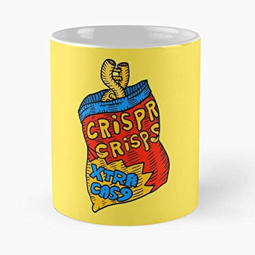 9 Science Crispr DNA Cas9 Crispy Cas Crisprcas Best 11 oz Kaffeebecher - Nespresso Tassen Kaffee Motive