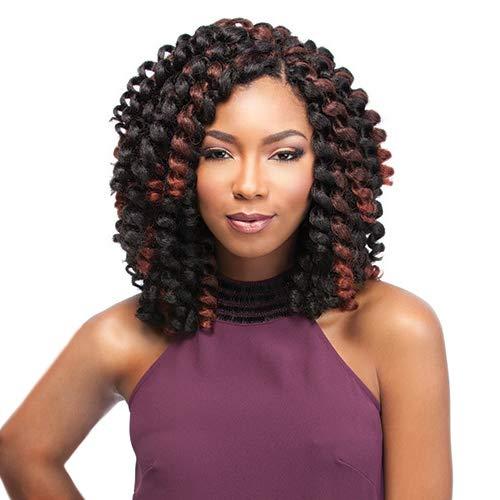 Sensationnel Synthetic Hair Crochet Braids African Collection Jamaican Bounce 26 (5-Pack, 1B) by Sensationnel