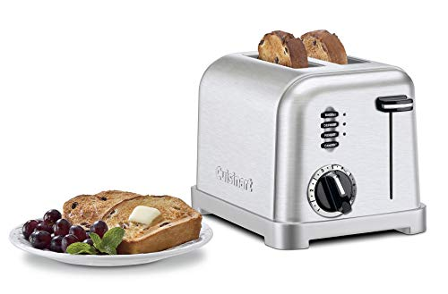 Great Features Of Cuisinart CPT-160 Metal Classic 2-Slice Toaster, Brushed Stainless