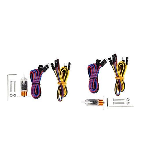 F Fityle 2x Sensore di Livellamento Automatico del Letto, Modulo di Tastatore Automatico A Livello di Calore per Stampante 3D per Migliorare La Precisione