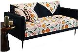 PFTHDE Fundas para sofás Fundas para sillas reclinables para sillones Funda para sofá Cama Fundas elásticas para sofás Fundas para sofás Funda para sofá Sofá Saver 70X210, Naranja