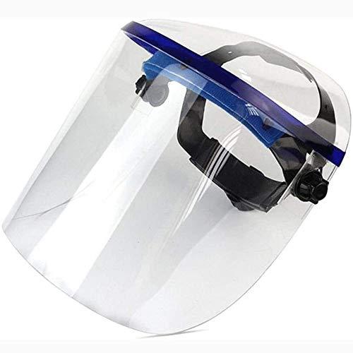QJWLZ Gezichtsbescherming, volledig gesloten plexiglas, spatwaterdicht, lasmasker, keukenbescherming