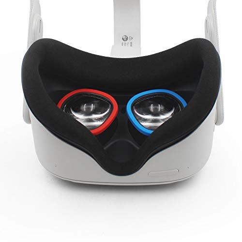 AMVR Objektiv Scratch Pad Schutz Myopie Gläser Von Kratzen VR Headset Objektiv Kompatibel Für Oculus Quest, Quest 2, Rift S Oder Oculus Go Headset
