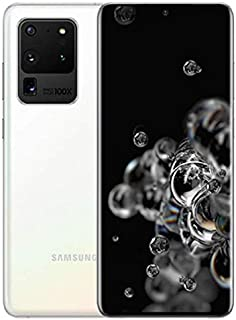 Samsung Galaxy S20 Ultra Dual SIM 128GB 12GB RAM 5G (UAE Version) - Cloud White - 1 year local brand warranty