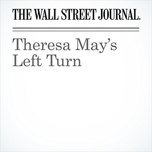 Theresa May's Left Turn copertina