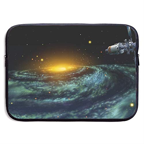 Fashion Computer Liner Sleeve Case Astronomy Cosmos Colors Galaxies Portable Laptop Protective Bag Cover Handbag for MacBook Pro/MacBook Air/Asus/Dell,13inch