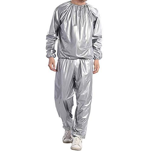 Miarui Fitness Gear Sportswear De sauna pak zweet gewichtsverlies kleding verdikking pak mannen casual sport pak