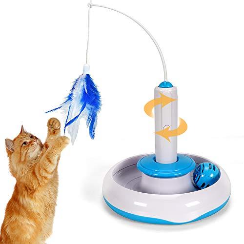 Tacobear Juguete de Gato Interactivo Juguete Interactivo eléctrico para...