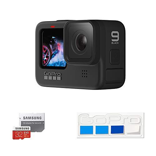 【GoPro公式限定】GoPro HERO9 Black + 認定SDカード + 非売品ステッカー 【国内正規品】