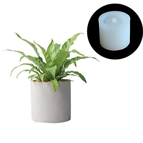 nicole Round Concrete Flower Pot Silicone Mold