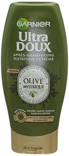 Garnier Ultra Doux Olive Mythique - Après-Shampooing Nutrition Extrême Cheveux Desséchés